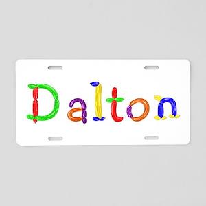 Dalton Balloons Aluminum License Plate