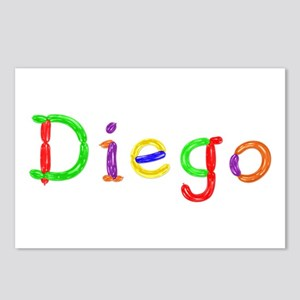 Diego Balloons Postcards 8 Pack