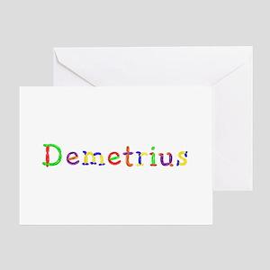 Demetrius Balloons Greeting Card