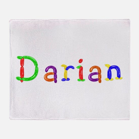 Darian Balloons Throw Blanket
