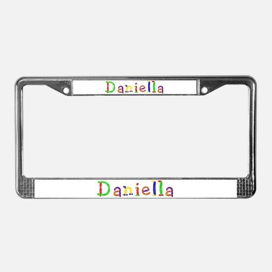 Daniella Balloons License Plate Frame