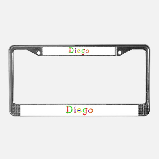 Diego Balloons License Plate Frame