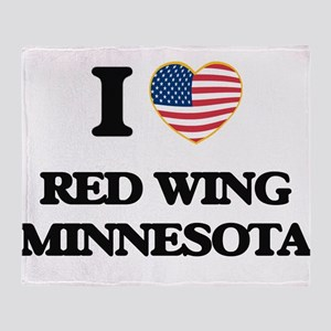 I love Red Wing Minnesota Throw Blanket