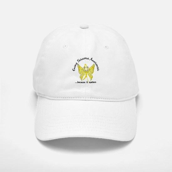 Ewing Sarcoma Butterfly 6.1 Baseball Baseball Cap