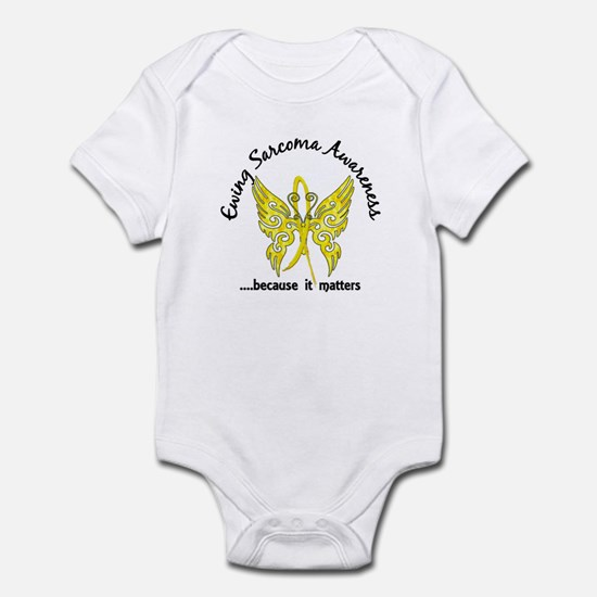 Ewing Sarcoma Butterfly 6.1 Infant Bodysuit