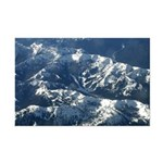 Arial view of Crystal Mtn ski area