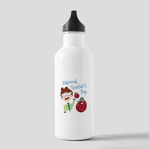 National Teacher's Day Water Bottle