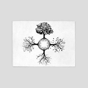 4 Seasons Ink 5'x7'Area Rug