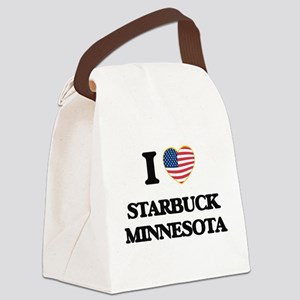 I love Starbuck Minnesota Canvas Lunch Bag