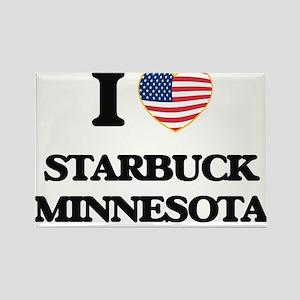 I love Starbuck Minnesota Magnets