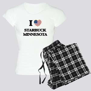 I love Starbuck Minnesota Women's Light Pajamas