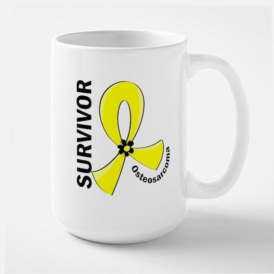 Osteosarcoma Survivor 12 Large Mug
