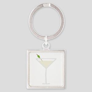 Martini Keychains