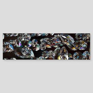 black diamonds Bumper Sticker