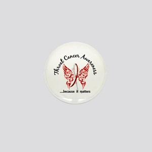 Throat Cancer Butterfly 6.1 Mini Button