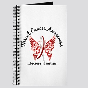 Throat Cancer Butterfly 6.1 Journal