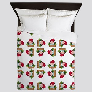 WELCOME GNOME Queen Duvet
