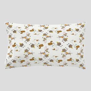 SHOPPING DOGS Pillow Case