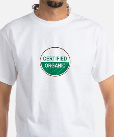 CERTIFIED ORGANIC White T-Shirt