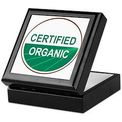 CERTIFIED ORGANIC Keepsake Box