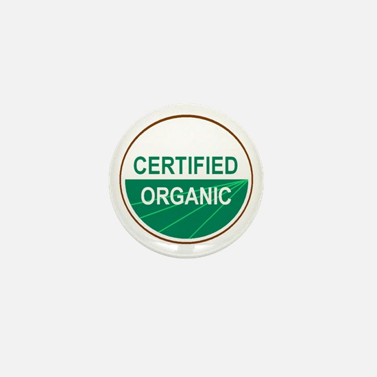 CERTIFIED ORGANIC Mini Button