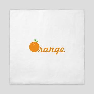 Orange Queen Duvet
