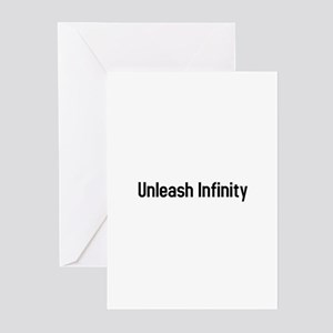 unleash infinity Greeting Cards (Pk of 10)