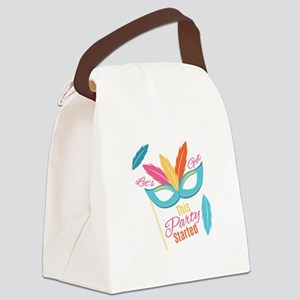 Let's Get This Party Started Canvas Lunch Bag