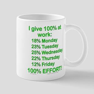 100% At Work! Mug