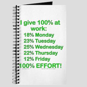100% At Work! Journal