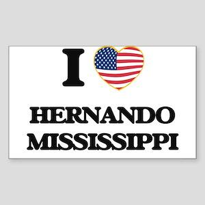 I love Hernando Mississippi Sticker