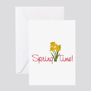 Spring Time Greeting Cards
