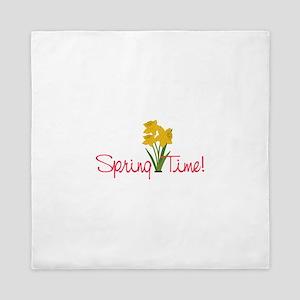 Spring Time Queen Duvet
