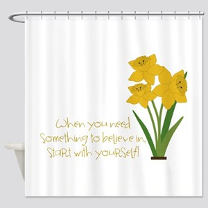 Something To Believe Shower Curtain