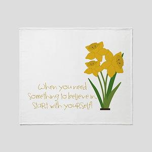 Something To Believe Throw Blanket