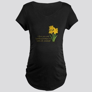 Something To Believe Maternity T-Shirt
