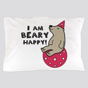 Beary Happy Pillow Case