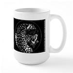 Cheetah Great Cat Large Mug