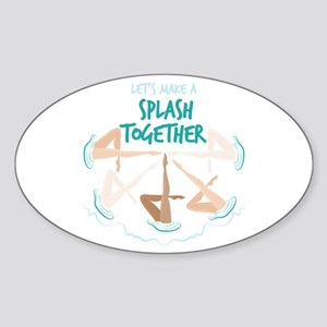 Splash Together Sticker