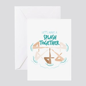 Splash Together Greeting Cards