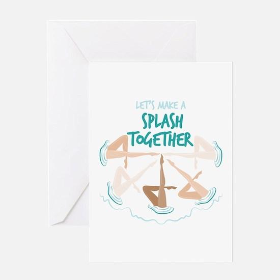 Splash Together Greeting Cards