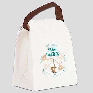 Splash Together Canvas Lunch Bag