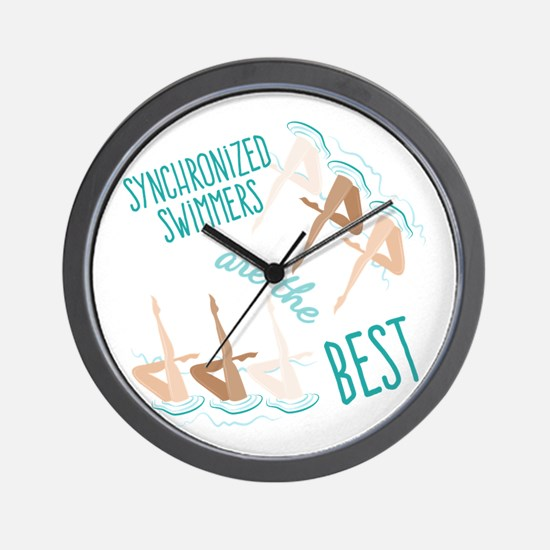 Best Swimmers Wall Clock