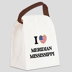 I love Meridian Mississippi Canvas Lunch Bag