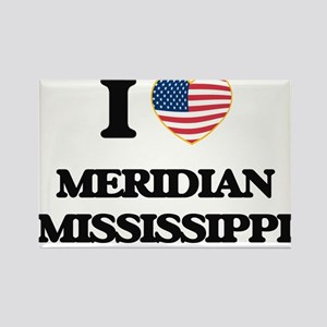 I love Meridian Mississippi Magnets