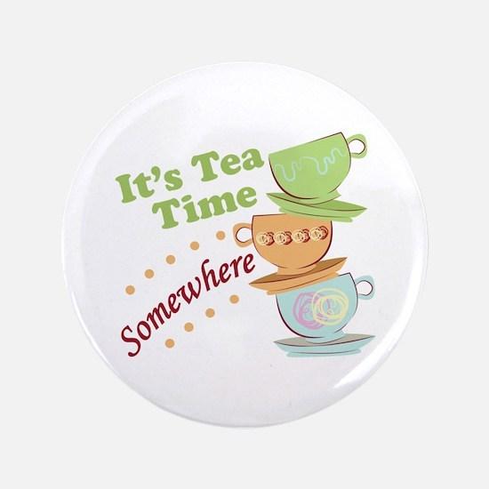 It's Tea Time Button