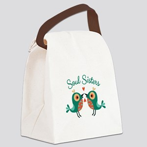 Soul Sisters Canvas Lunch Bag