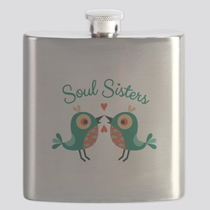 Soul Sisters Flask