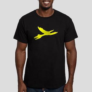 Pterodactyl Silhouette (Yellow) T-Shirt