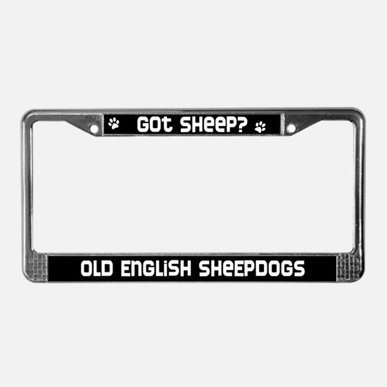 got sheep? OES License Plate Frame